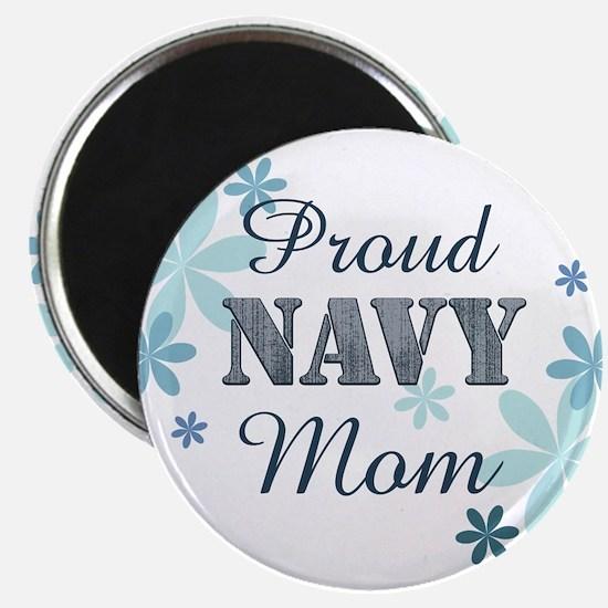 Proud Navy Mom [fl] Magnet