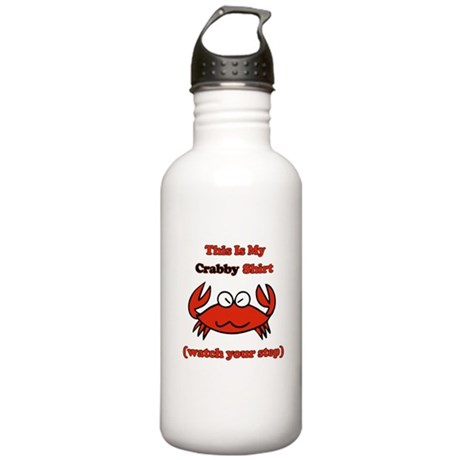 My Crabby Shirt Stainless Water Bottle 1.0L