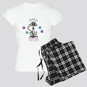 Little Diva Cat Women's Light Pajamas