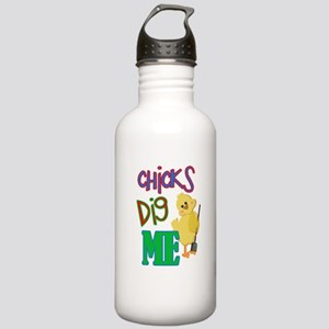 Chicks Dig Me Stainless Water Bottle 1.0L