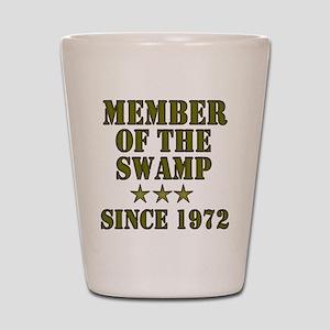 Swamp Member Shot Glass