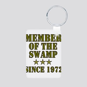 Swamp Member Aluminum Photo Keychain