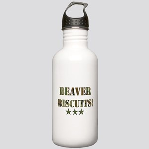 Beaver Biscuits Stainless Water Bottle 1.0L