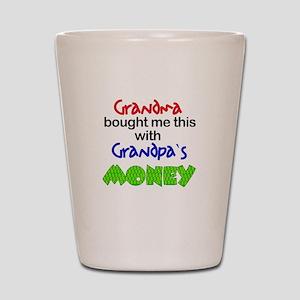 Grandpa's Money Shot Glass