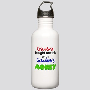 Grandpa's Money Stainless Water Bottle 1.0L