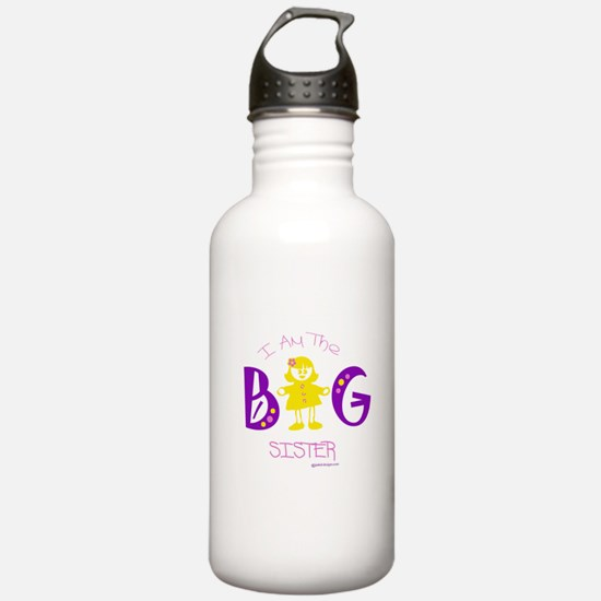 I am the big sister Water Bottle