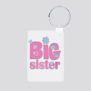 Big Sister Aluminum Photo Keychain