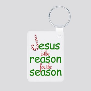 Jesus Is The Reason For The S Aluminum Photo Keych