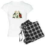 Peace Love Joy Snowman Women's Light Pajamas
