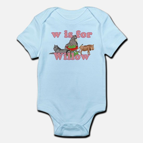 W is for Willow Infant Bodysuit