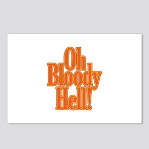Oh Bloody Hell! Postcards (Package of 8)