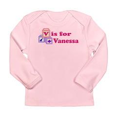 Baby Blocks Vanessa Long Sleeve Infant T-Shirt