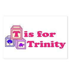 Baby Blocks Trinity Postcards (Package of 8)