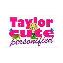 Cute Taylor 38.5 x 24.5 Wall Peel