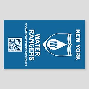 NY Water Rangers Sticker (Rectangle)