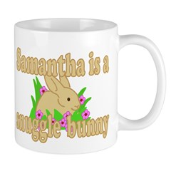 Samantha is a Snuggle Bunny Mug