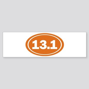 13.1 burnt orange Sticker (Bumper)