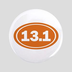 """13.1 burnt orange 3.5"""" Button"""