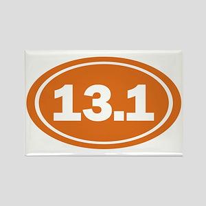 13.1 burnt orange Rectangle Magnet