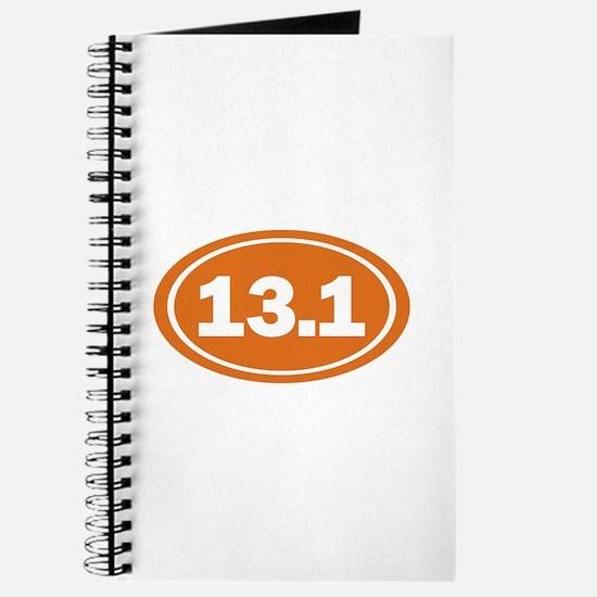 13.1 burnt orange Journal