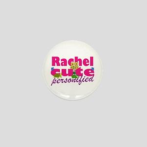 Cute Rachel Mini Button