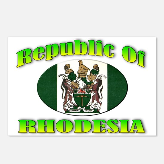 Republic of Rhodesia Postcards (Package of 8)
