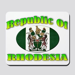 Republic of Rhodesia Mousepad