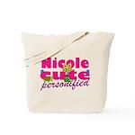 Cute Nicole Tote Bag