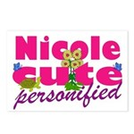 Cute Nicole Postcards (Package of 8)