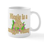 Nicole is a Snuggle Bunny Mug