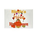 First Halloween Nicole Rectangle Magnet