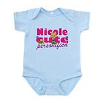 Cute Nicole Infant Bodysuit