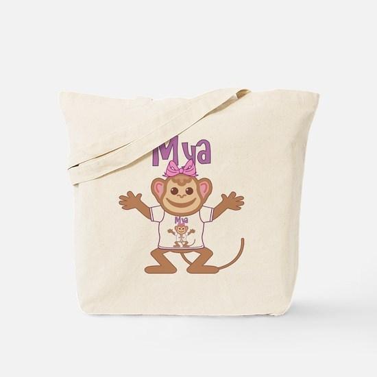 Little Monkey Mya Tote Bag