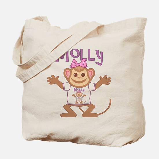Little Monkey Molly Tote Bag