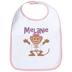 Little Monkey Melanie Bib