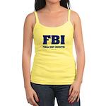 FBI Female Body inspector Jr. Spaghetti Tank