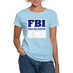 FBI Female Body inspector Women's Pink T-Shirt