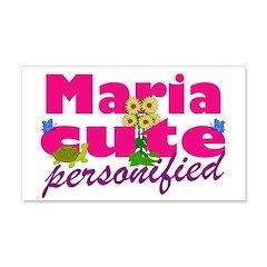 Cute Maria 22x14 Wall Peel