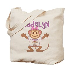 Little Monkey Madelyn Tote Bag