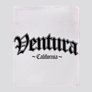 Ventura California Throw Blanket
