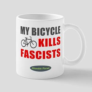My Bicycle Kills Fascists Mug