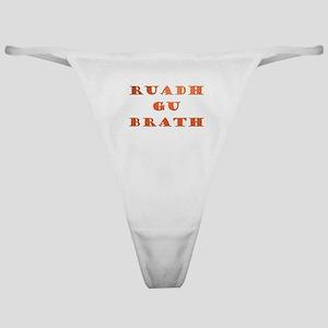 Gaelic Ruadh Gu Brath Classic Thong