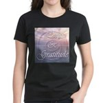 Love and Gratitude Women's Dark T-Shirt