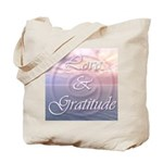 Love and Gratitude Tote Bag
