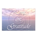Love and Gratitude Postcards (Package of 8)