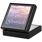 Love and Gratitude Keepsake Box