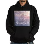Love and Gratitude Hoodie (dark)