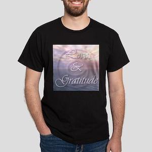 Love and Gratitude Dark T-Shirt