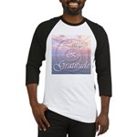 Love and Gratitude Baseball Jersey