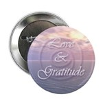 "Love and Gratitude 2.25"" Button (10 pack)"